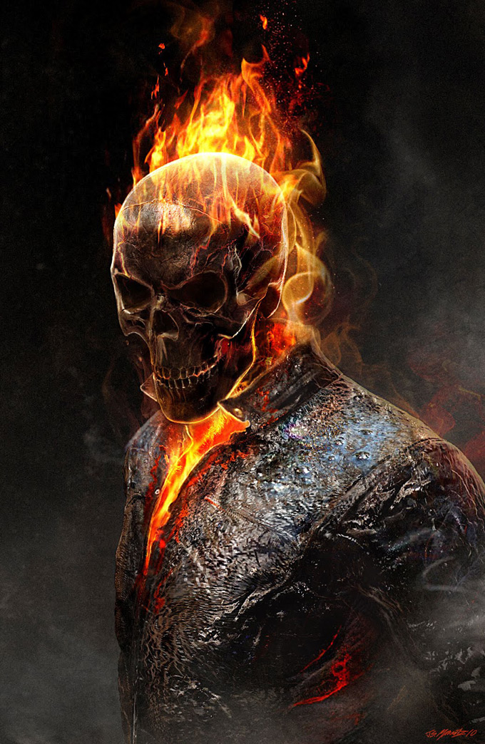Quicksilver Avengers 2 Concept Art Image - Ghost Rider+Co...