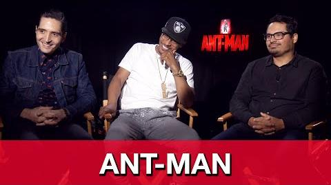Ant-Man Interview - Michael Pena, T.I. Harris & David Dastmalchian