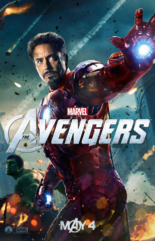 File:The Avengers - Tony Stark promotional poster.png