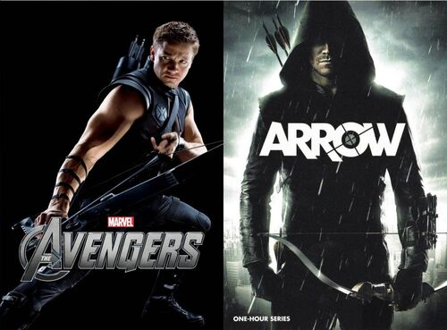 Hawkeye Vs. Green Arrow