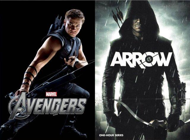 File:Hawkeye Vs. Green Arrow.jpg