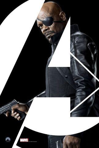 File:Nick Fury Avengers poster.jpg