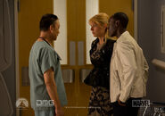 Dr. Wu, Pepper and Rhodey