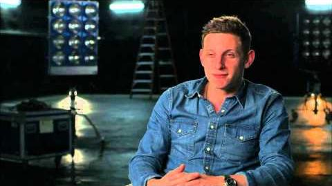 "The Fantastic Four Jamie Bell ""The Thing"" Behind the Scenes Movie Interview -2015"