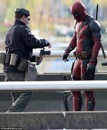 Deadpool Filming 16