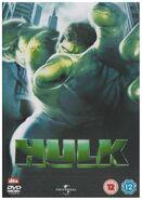 Hulk UK DVD