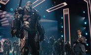 War Machine at the Stark Expo 2