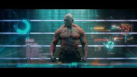 Meet the Guardians of the Galaxy Drax