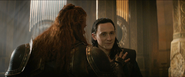 Thor The Dark World Volstagg and Loki