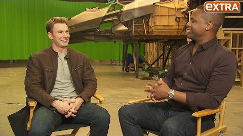 Exclusive Chris Evans Talks 'Captain America Civil War' During Our Top-Secret Set Visit
