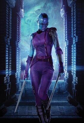 GOTG Nebula poster