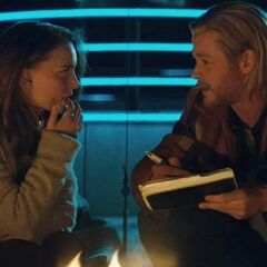 Jane Foster and Thor.