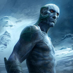 Concept art of a Frost Giant.