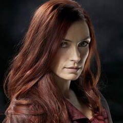 Jean in her Phoenix persona in <i>X-Men: The Last Stand</i> (2006).