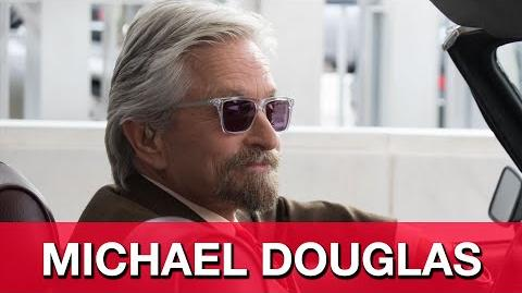 "Ant-Man Interview - Michael Douglas ""Hank Pym"""
