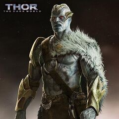 Unused concept art for a Frost Giant in <i><a href=
