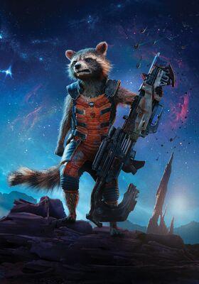 GOTG Rocket Poster