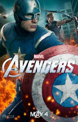 The Avengers - Steve Rogers promotional poster