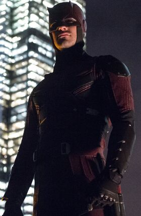 Daredevil red suit