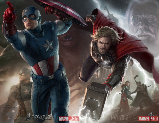 File:Avnegers thor & cap.png