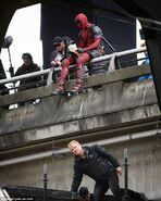 Deadpool Filming 45