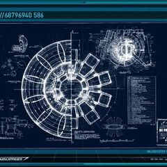 Arc Reactor blueprints specs.