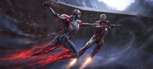 File:Iron Man v Ultron-faceoff.jpeg