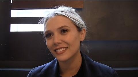 "Elizabeth Olsen Says 'Captain America Civil War' Is ""Darker and Fun"""