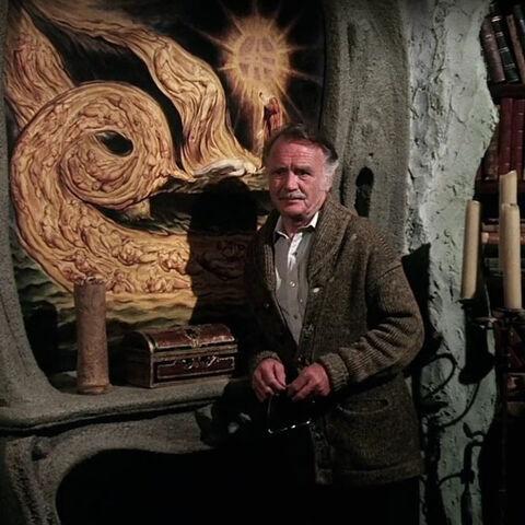 Lindmer in the Sanctum Sanctorum.