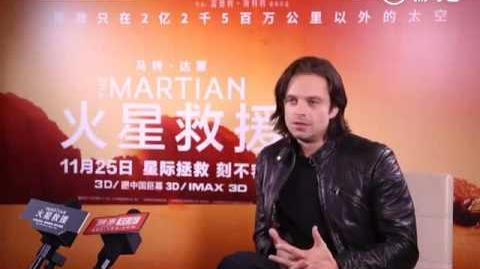 Sebastian Stan talks Captain America Civil War