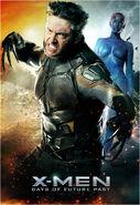 Wolverine Mystique poster