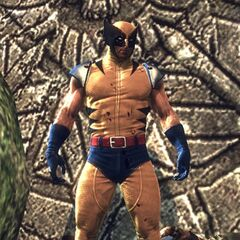 Classic Wolverine costume in the video game