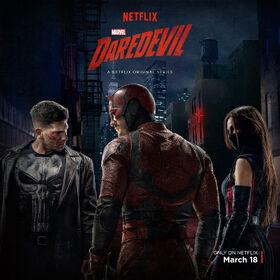 Poster Punisher, Daredevil and Elektra