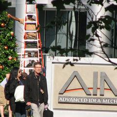 <b>A.I.M.</b> set photo.