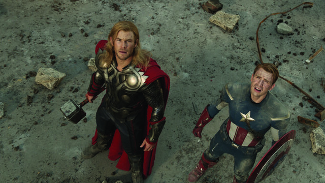 File:Thor and Captain America.jpg