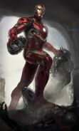 Iron Man's Mark 45 Armor Concept Art 03