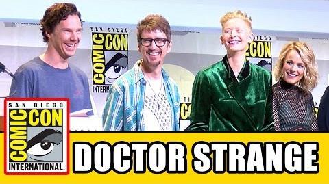 DOCTOR STRANGE Comic Con 2016 - Benedict Cumberbatch, Tilda Swinton, Rachel McAdams, Mads Mikkelsen
