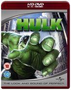 Hulk UK HD DVD