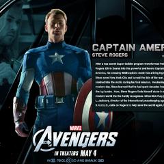 Steve Rogers Bio Wallpaper.