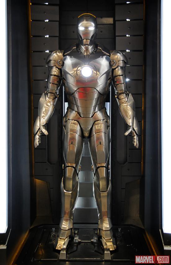 Mark Viii Iron Man Wiki Iron Man Armor Mark ii