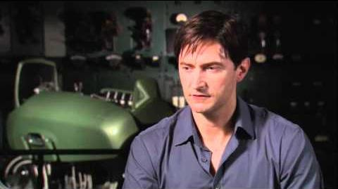 Captain America- Richard Armitage Interview