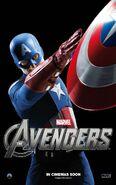 The Avengers Steve Rogers Poster