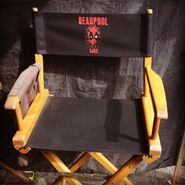 Deadpool Ed Skrein Ajax Chair