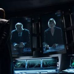 Fury meets with The World Security Council.