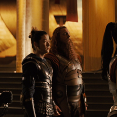 Sif beseeches Loki to end Thor's banishment
