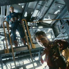 Steve and Tony Stark.