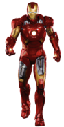 Iron Man strut