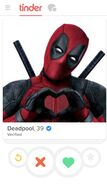 Deadpool Tinder