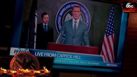 Director Mace Announces S.H.I.E.L.D. Has Gone Public - Marvel's Agents of S.H.I.E.L.D.