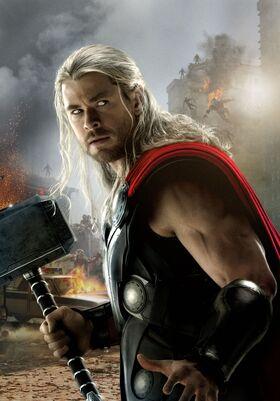 Avengers age of ultron thor-art